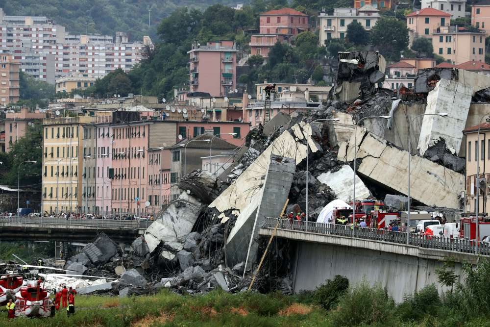 Italy motorway bridge collapse kills at least 22 - deputy minister