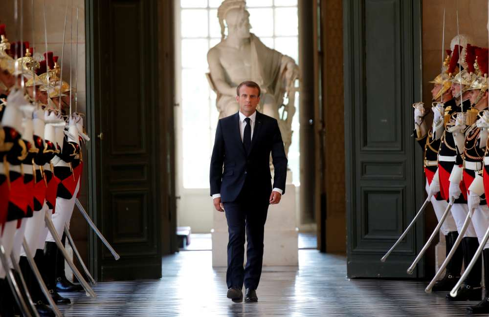 Macron targets French welfare spending as deficit pressure rises