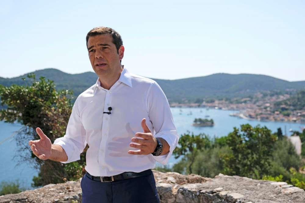 Tsipras declares