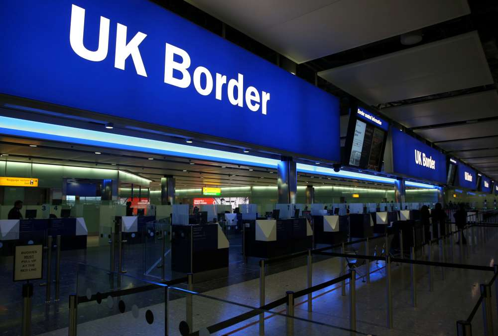 Net EU migration to Britain falls to lowest since 2012