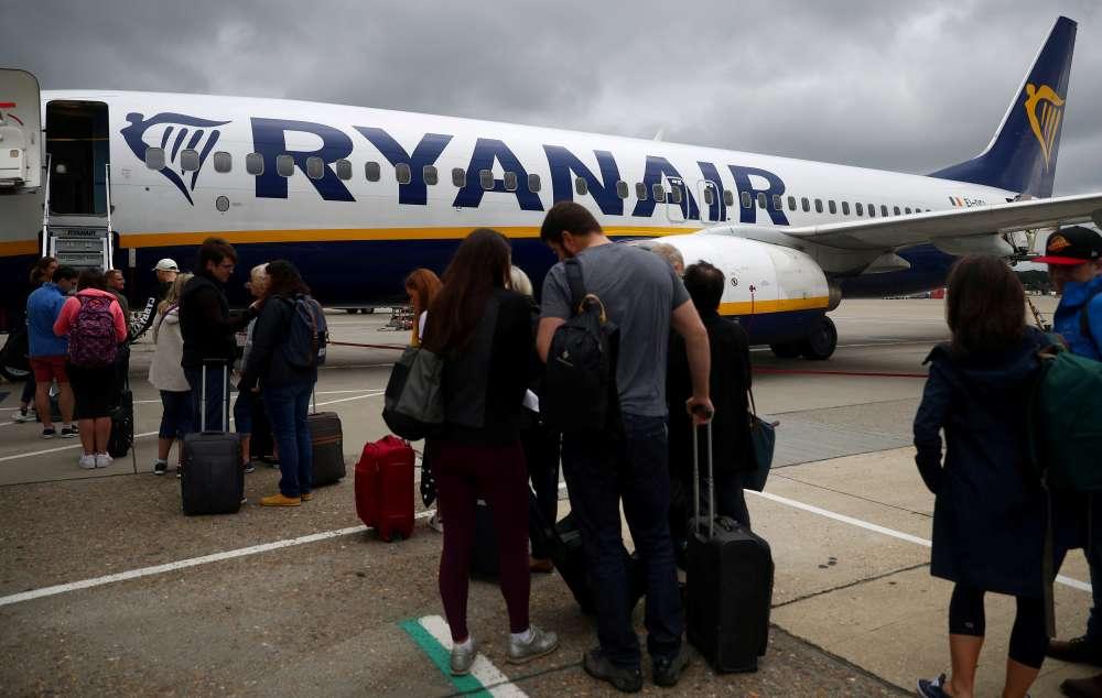 Ryanair profit hits 4-year low
