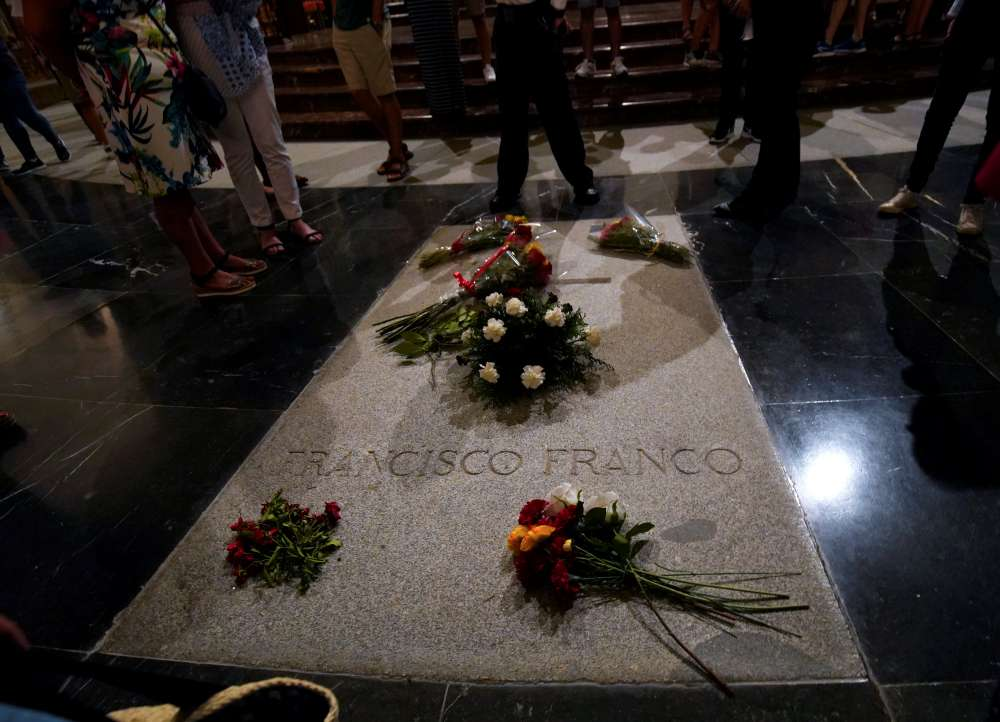 Spain's govt passes decree to exhume remains of dictator Franco