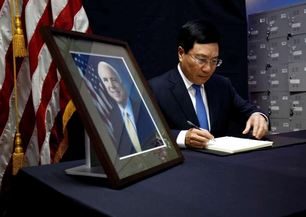 Vietnam says John McCain helped 'heal the wounds of war'