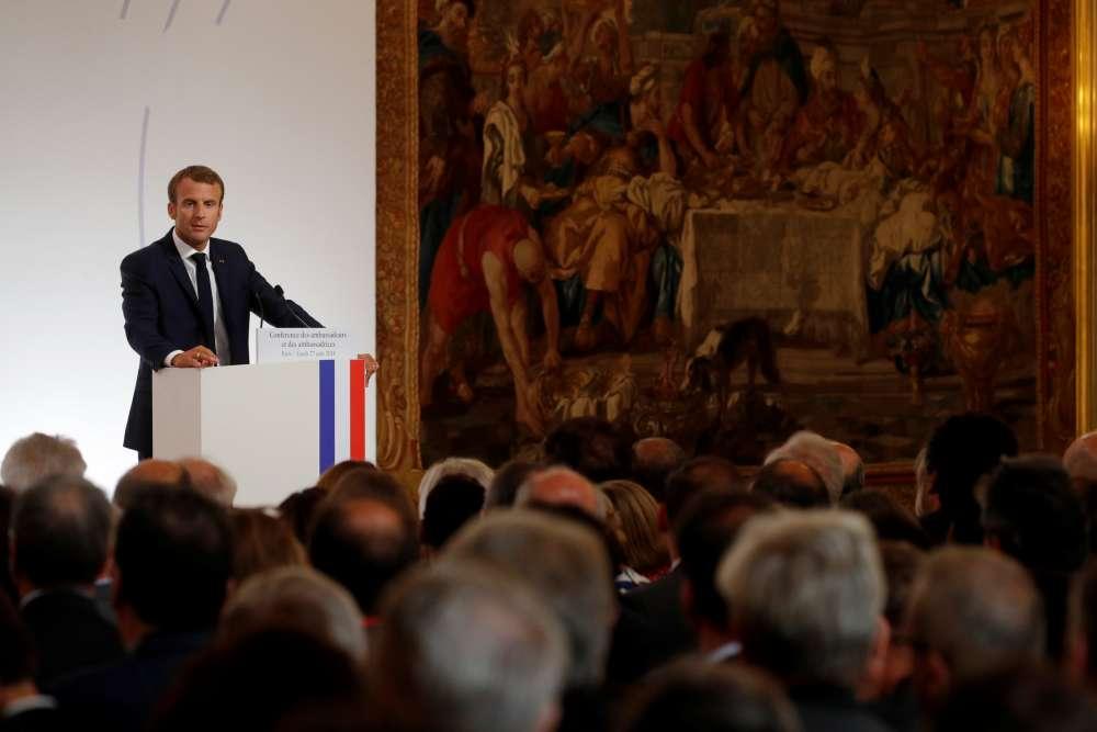 Macron says Brexit cannot divide EU