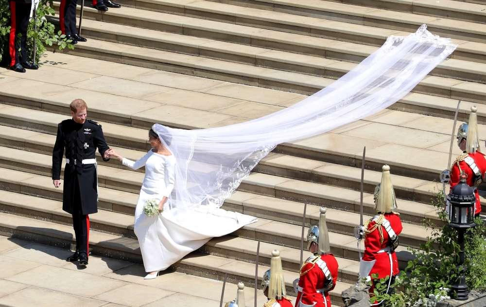 Meghan's wedding dress to go on display