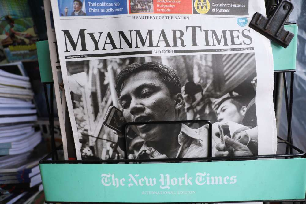 Myanmar civil society groups condemn conviction of Reuters reporters