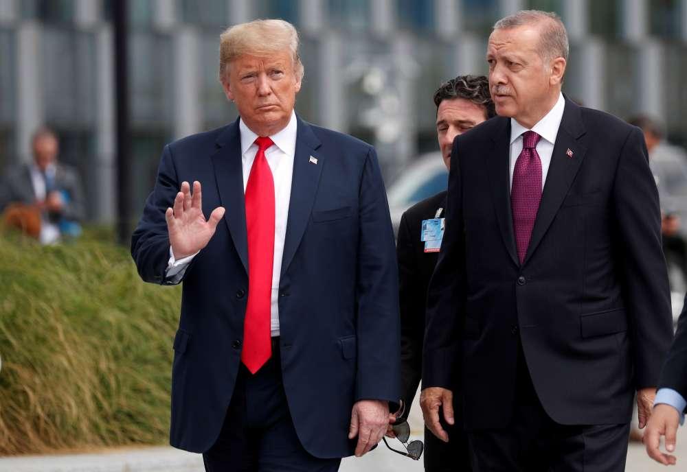 Turkey urges U.S. to honour partnership after Trump warns of economic devastation
