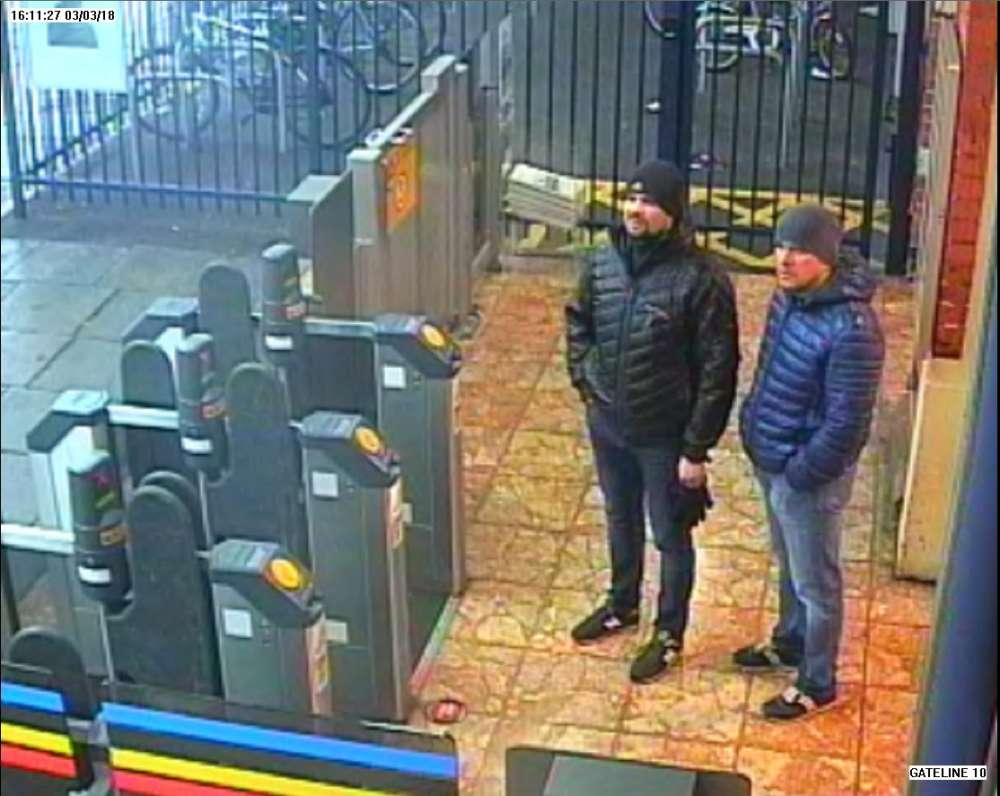 UK charges two Russians for attempted murder of Skripals with nerve agent