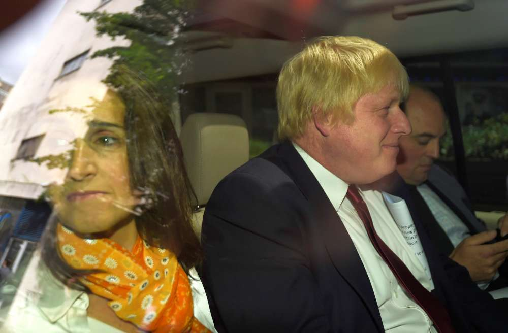 Former British Foreign Secretary Boris Johnson and wife to divorce - PA
