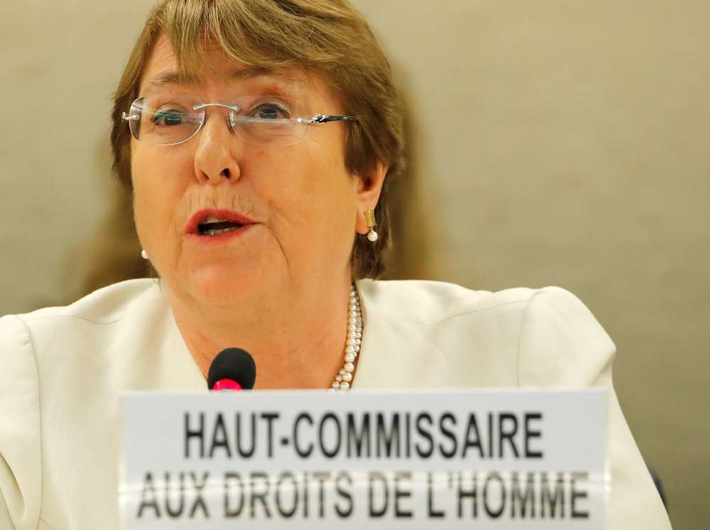 Rights chief Bachelet takes on China
