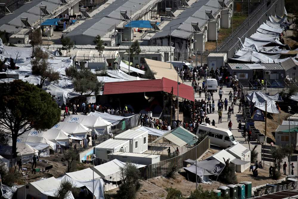 Greece's Moria migrant camp faces closure over public health fears
