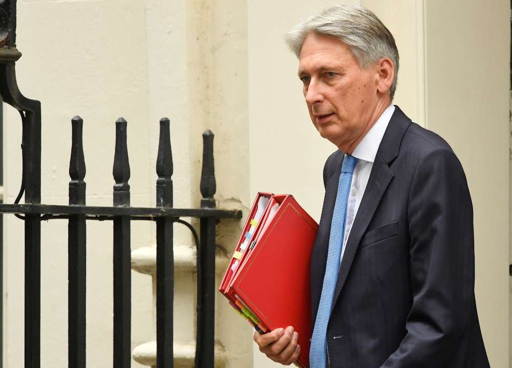 UK's Hammond warns PM contenders over post-Brexit spending promises