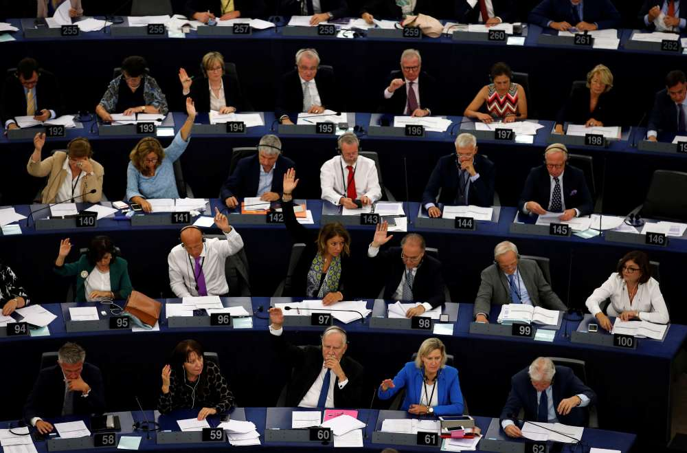European Parliament calls for punitive action against Hungary over rule of law