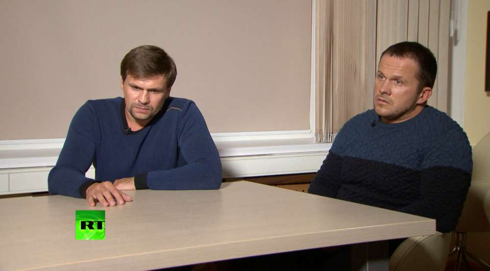 Russians in UK spy case say they wanted to see cathedral
