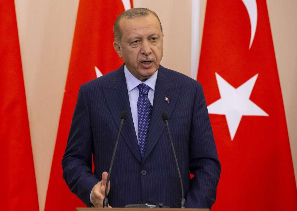 Erdogan: Turkey will not retreat in Aegean and Mediterranean
