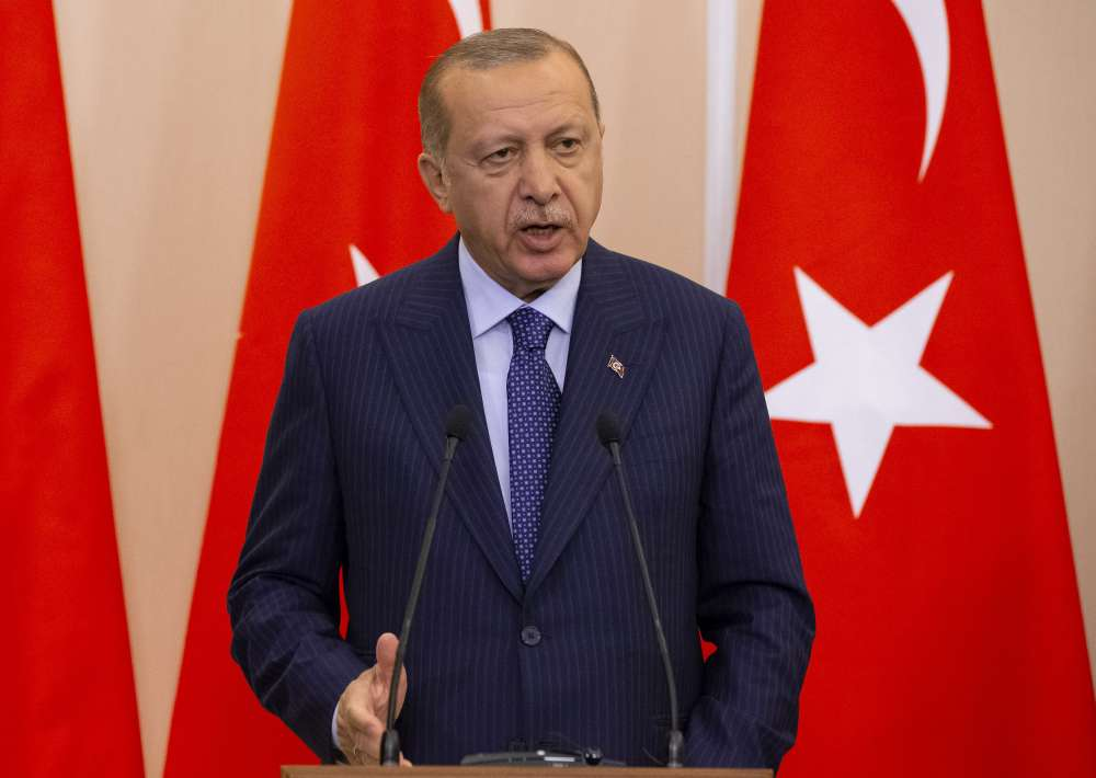 Turkey's Erdogan lambasts critics of Syrian assault in fiery speech