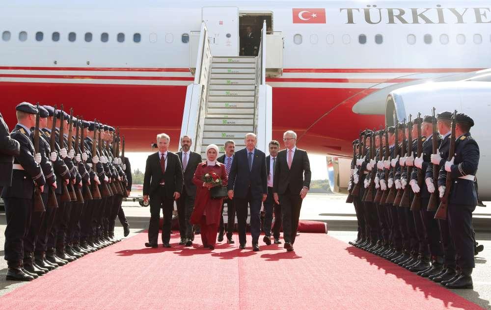 Erdogan calls on Germany to list Gulen group as terrorists
