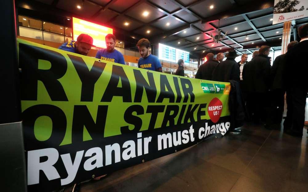 Ryanair strikes disrupt 40
