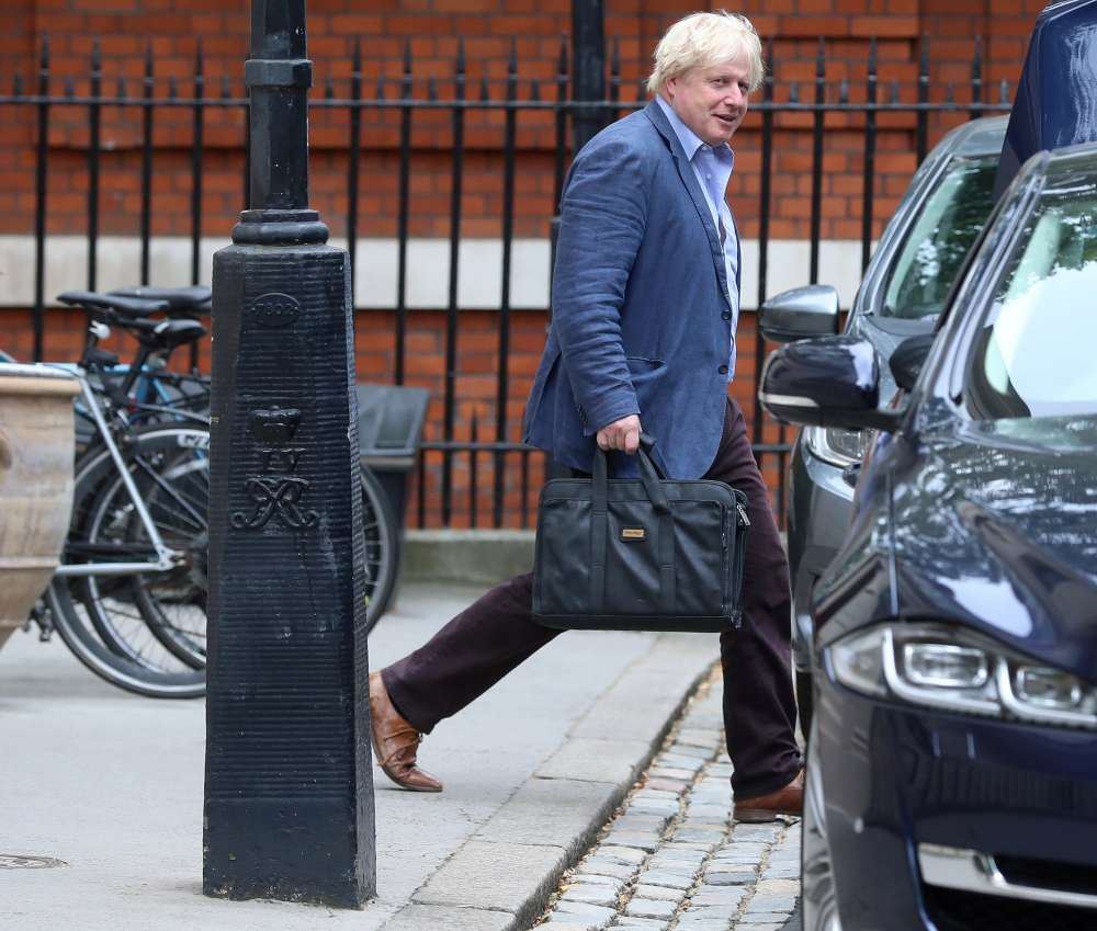 Britain's Johnson faces cabinet revolt over no-deal Brexit - media
