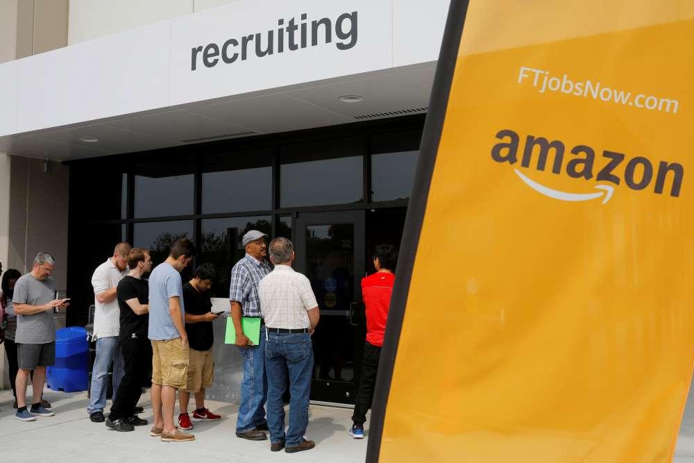 Amazon raises minimum wage to $15