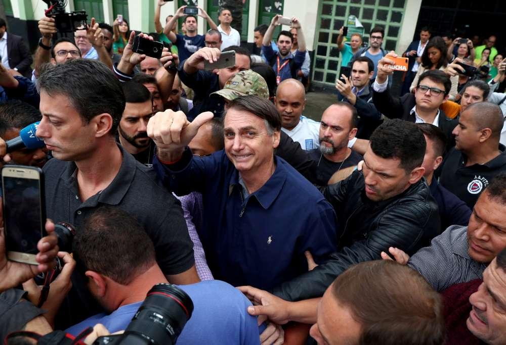 Bolsonaro says Brazil is prepared in case of protests