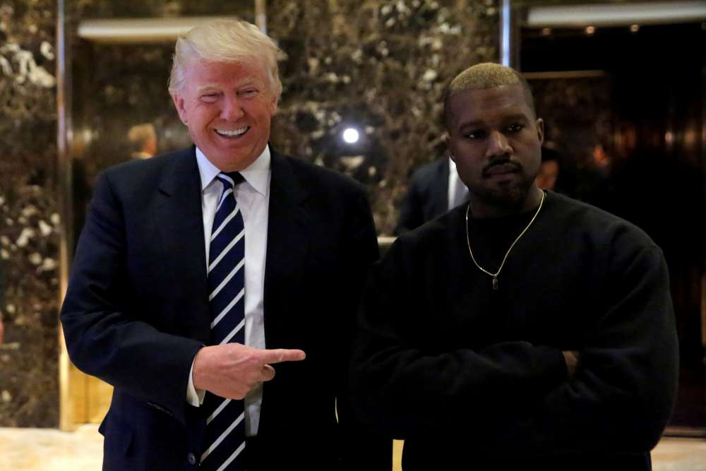 Kanye heads to West Wing