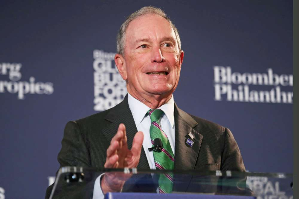 Bloomberg goes back home - to the Democrats