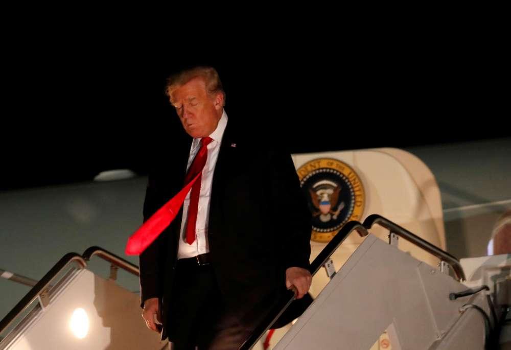 Trump: U.S. working with Turkey