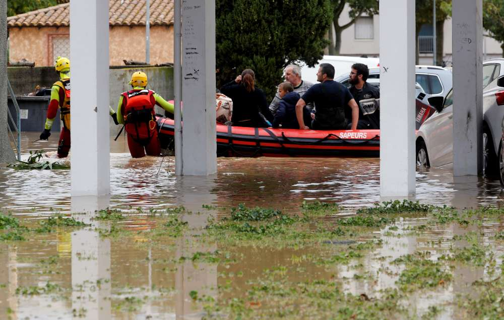 At least 13 people killed in flashfloods in southern France