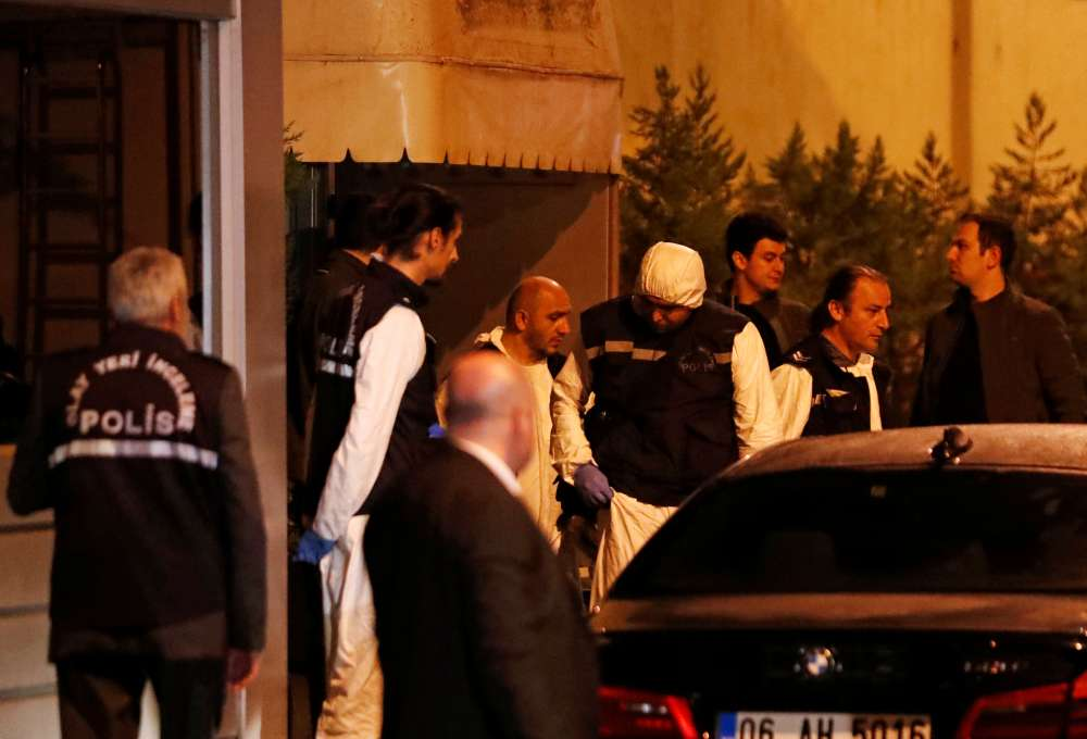 Teams probing Saudi journalist's disappearance leave Istanbul consulate