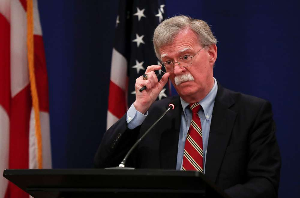 Trump advisor Bolton says U.S. has invited Putin to Washington