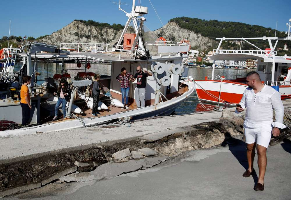 Powerful quake permanently moves Zakynthos by 3 centimetres