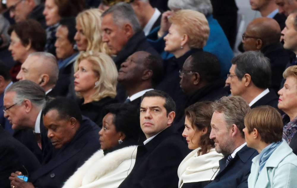 Cyprus President at centennial commemoration of WWI in Paris