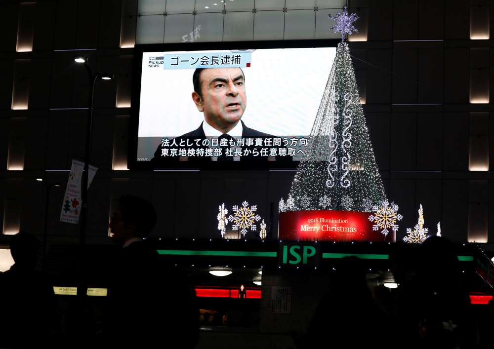 Nissan votes unanimously to fire Chairman Ghosn