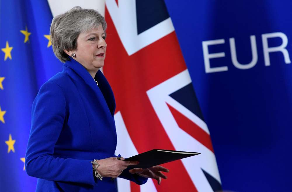 May's Brexit deal prospects ebb as top ally rejects it