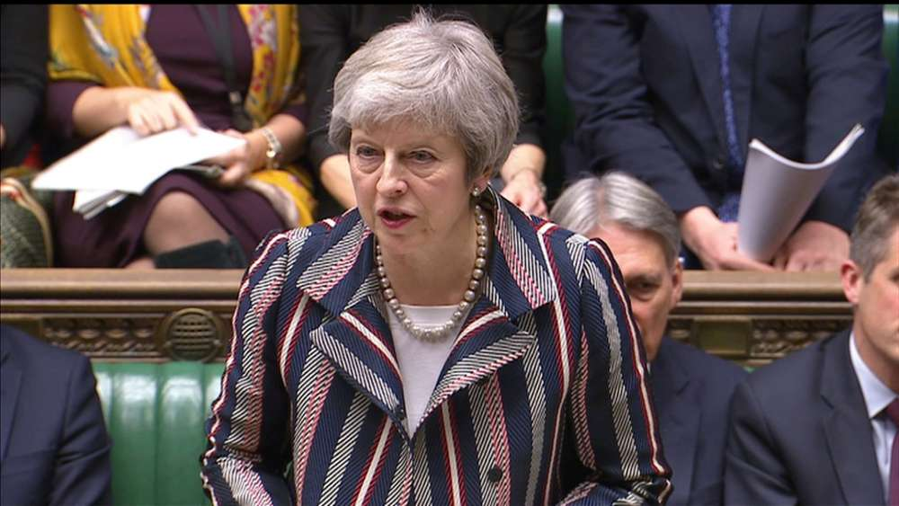 May and opposition leader agree to TV debate over Brexit