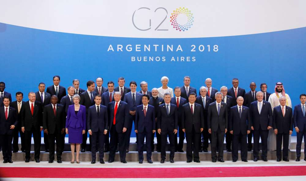 G20 leaders skirt trade tensions