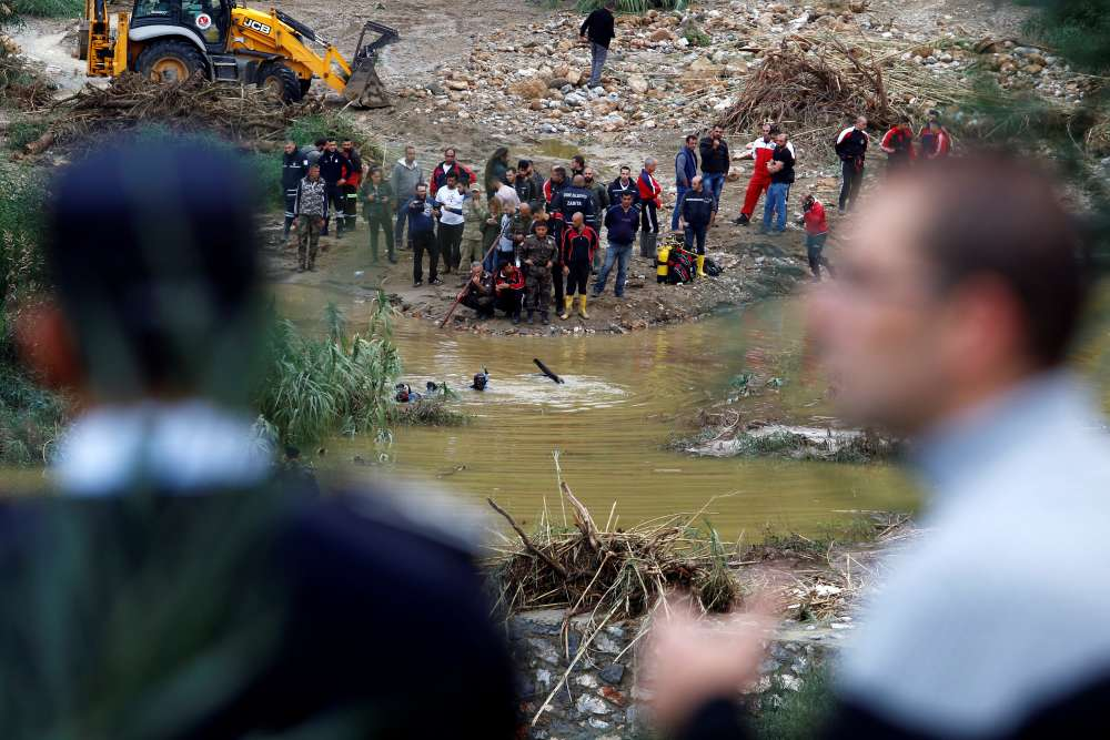 At least four killed in Kyrenia flooding - Reuters