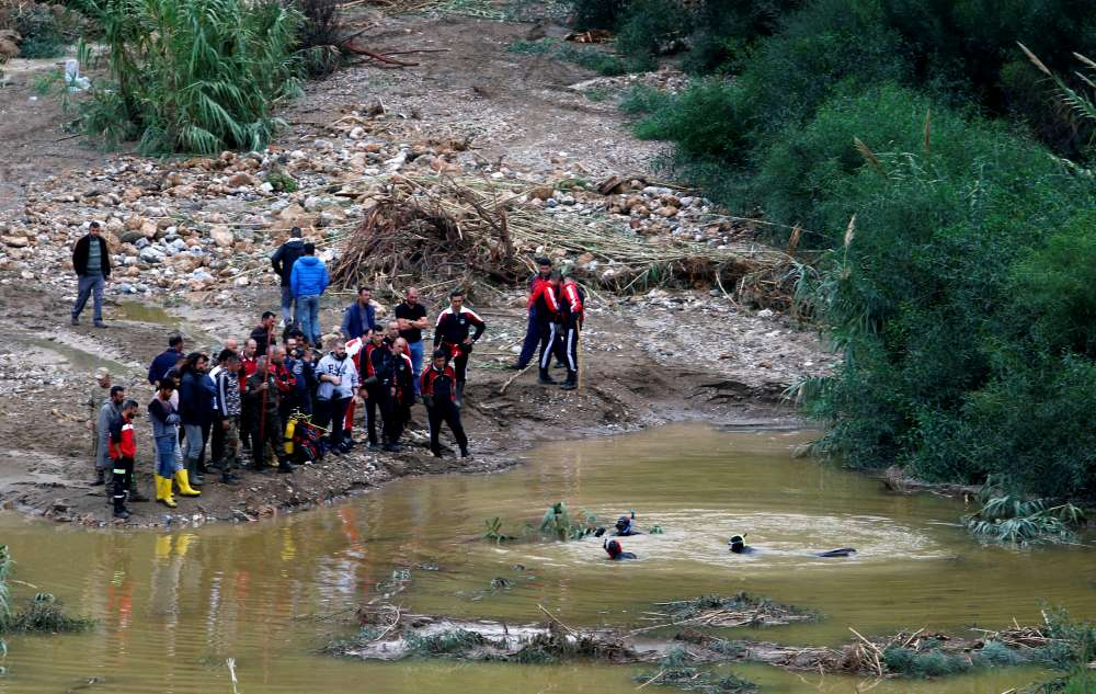 Rescue crews looking for woman missing after floods in Kyrenia