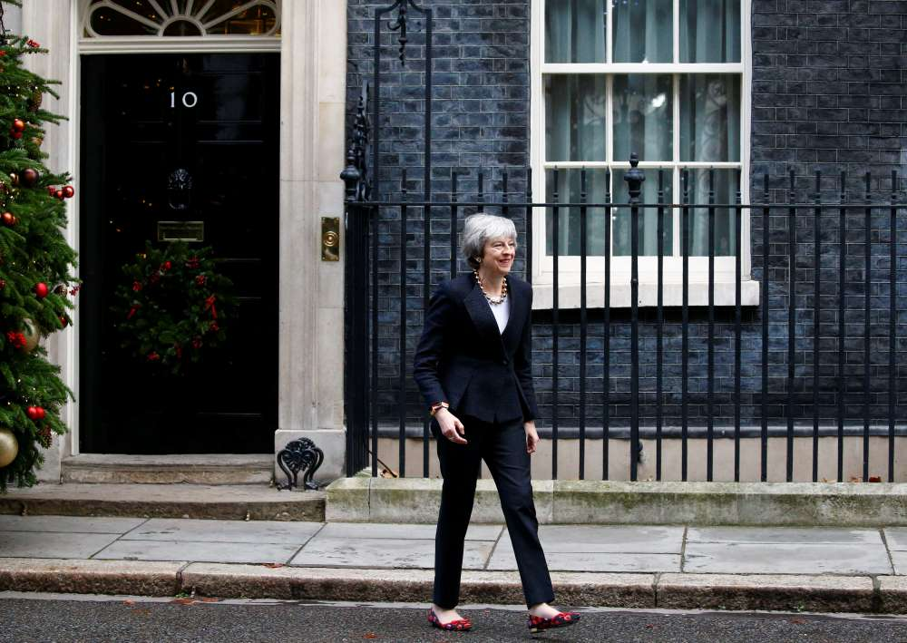 May says greater risk of no Brexit the longer it takes to find compromise