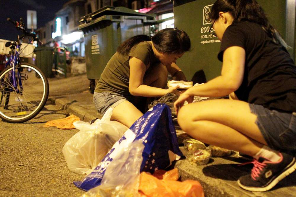 Singapore's 'freegans' find treasure in trash