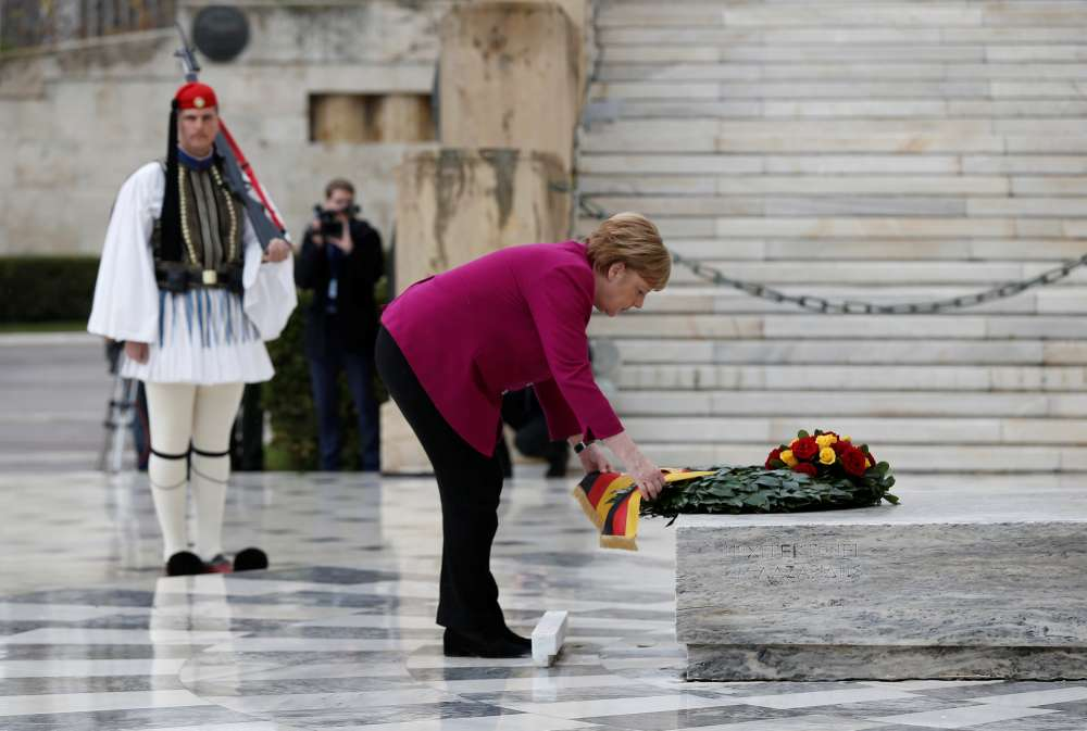 Greece says it has grounds for war reparation claim against Germany