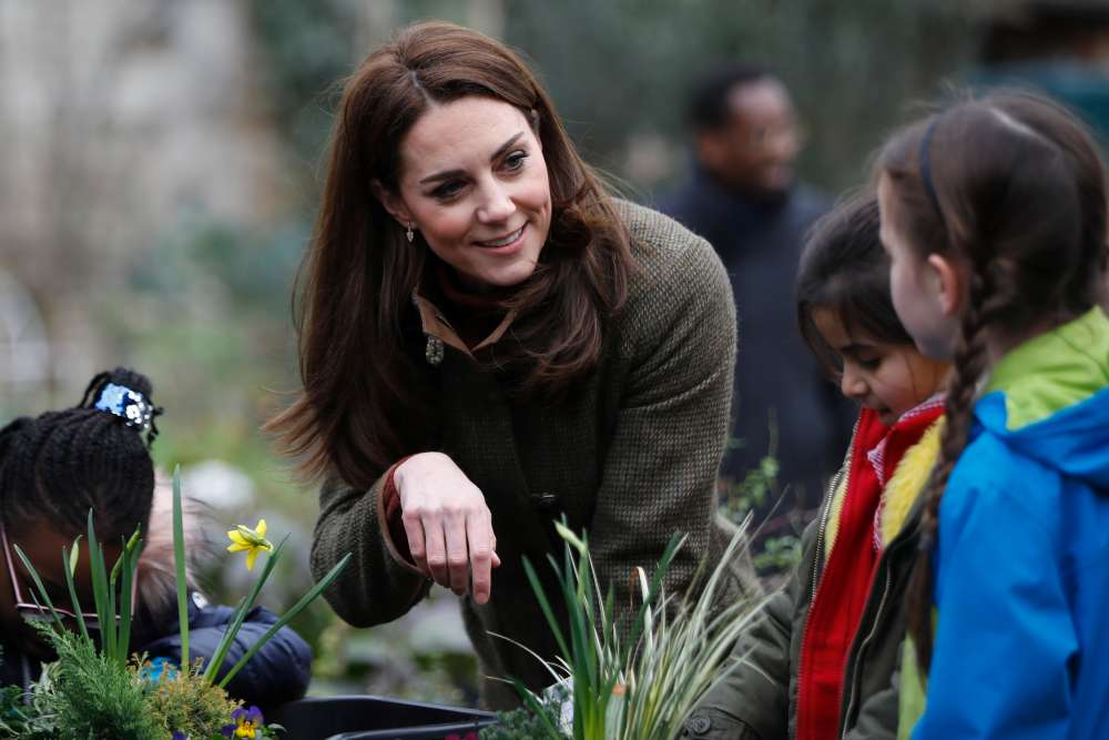 British royal Kate to design woodland wilderness garden for show
