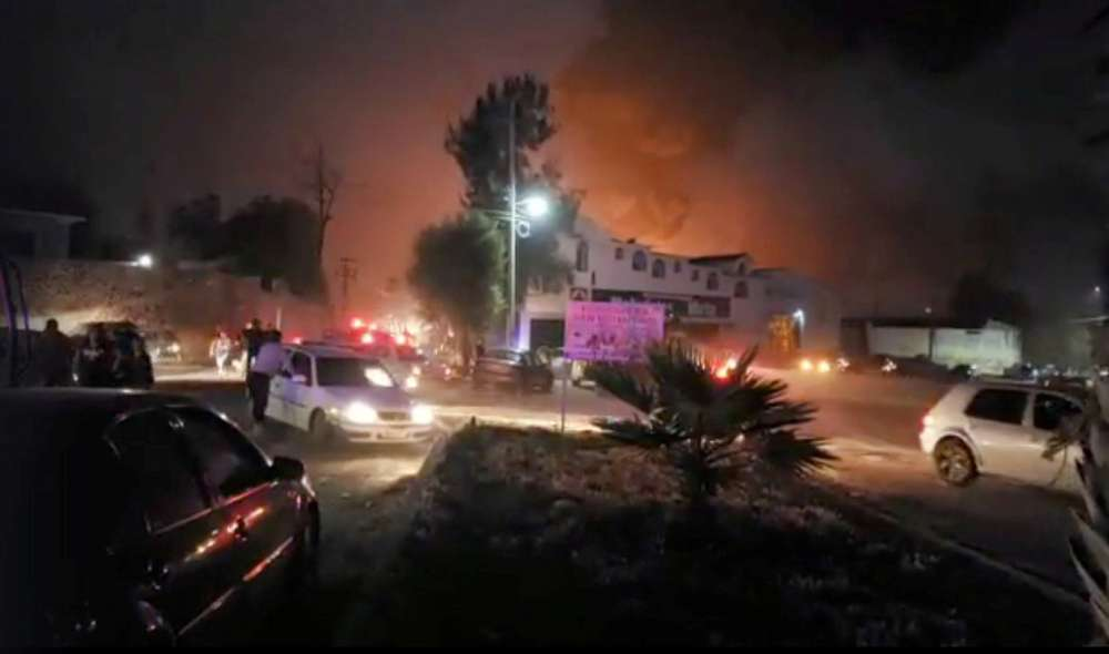 Mexican pipeline blast during fuel raid kills at least 21