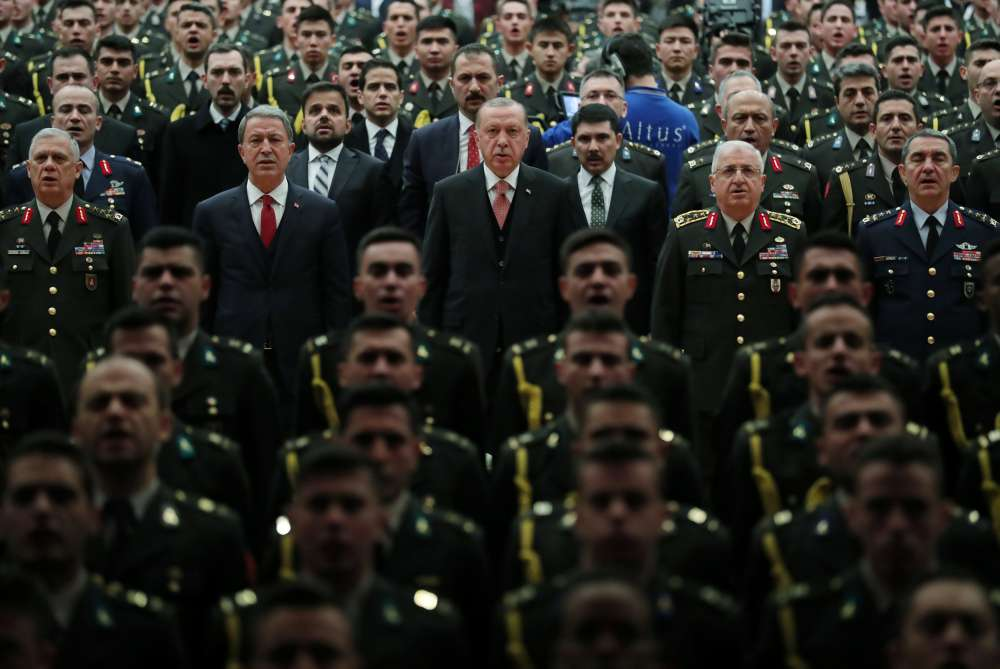 Turkey orders 295 military personnel arrested over Gulen links
