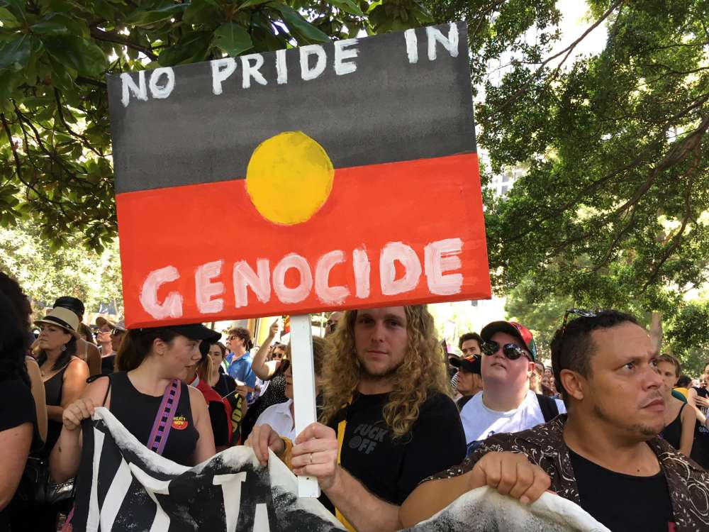 Thousands protest Australia Day legacy (pics)