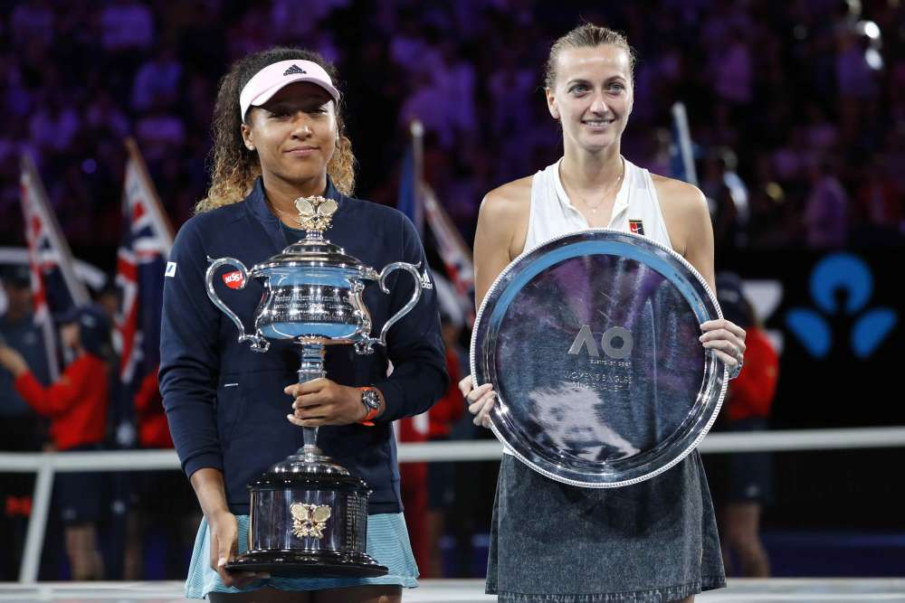 Osaka beats Kvitova to win Australian Open (pics)
