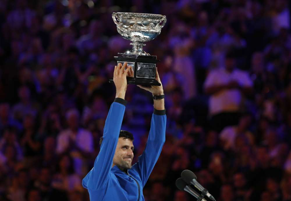 Dominant Djokovic wins record seventh Australian Open title