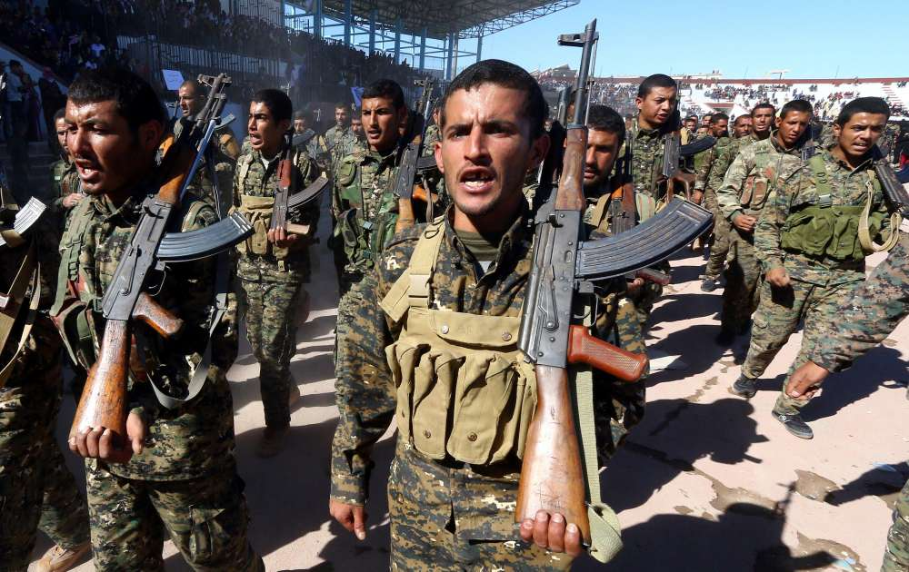 U.S.-backed Syrian force launches 'final battle' against IS