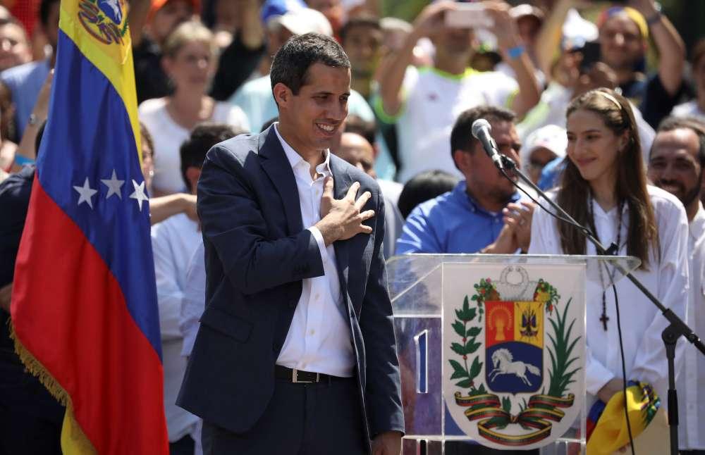 Major European nations recognise Guaido as Venezuela president